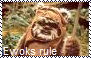 Ewoks rule stamp by Raephen