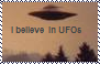 I believe in UFOs stamp by Raephen