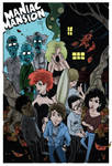 Maniac Mansion by steverinoz