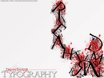 DREAM THEATER - TYPOGRAPHY by synthz