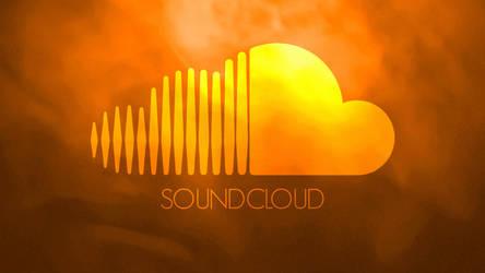 Soundcloud wallpaper - 'Orange Galaxy' by ChrisFR06
