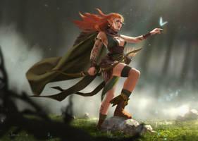 Elf by clarewyc