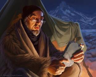 Professor William Webb by Alisaryn