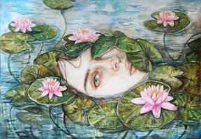 Water Lilies by Poplavskaya