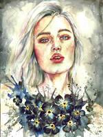 My heart grows flowers bec of u by Poplavskaya
