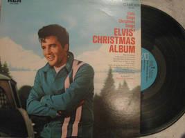 ELVIS: CHRISTMAS ALBUM, vinyl by Kublakhan27