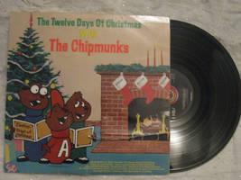 CHIPMUNKS: 12 DAYS OF CHRISTMAS, vinyl by Kublakhan27
