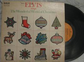 ELVIS: WONDERFUL WORLD OF CHRISTMAS, vinyl by Kublakhan27
