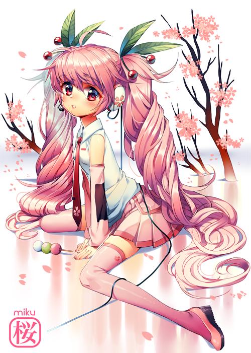 sakura miku by Satchely