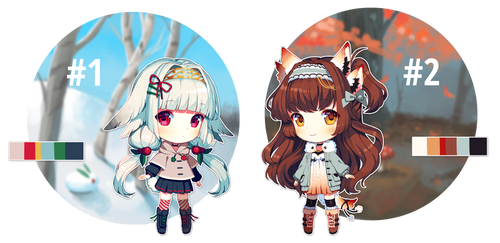 Chibi Vauxen Adopts [CLOSED] by Satchely