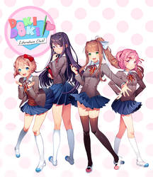 Doki Doki Literature Club by Satchely