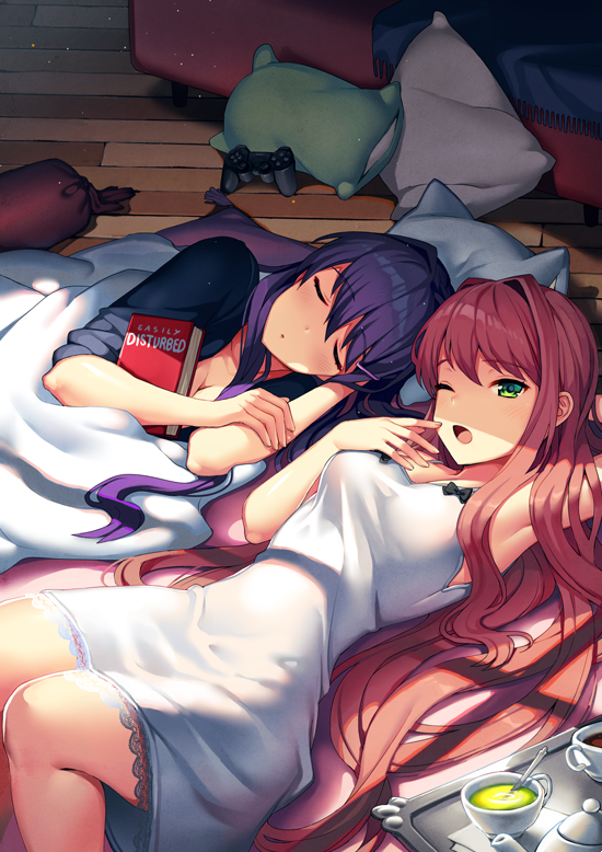 Taking a nap by Satchely