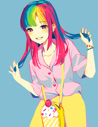 Rainbow by Satchely