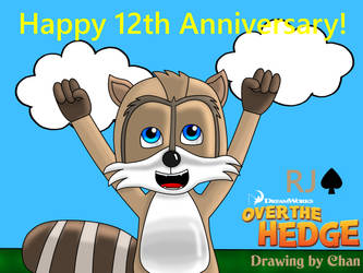 Happy 12th Anniversary! Over the Hedge by NordicWiiU7