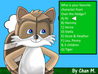 Who is your favorite character from Over the Hedge by NordicWiiU7