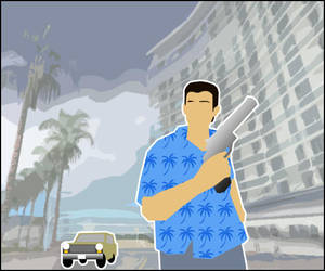 GTA Tommy Vercetti On The Run by CCPD