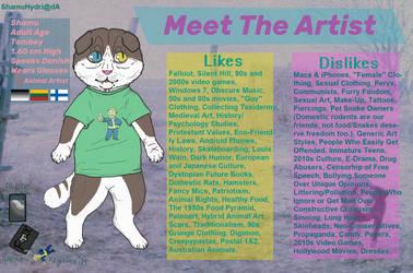 Meet The Artist 2.0 by ShamuHydri