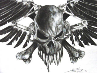 Skull Crossbones Close Up By Twyliteskyz On Deviantart