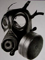 gas mask by twyliteskyz