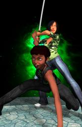 I Know Kung Fu by maverisms