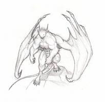 Gargoyle by krigg