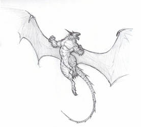 Anthro dragon 2 by krigg