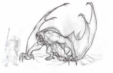 Big Bat-Wolf by krigg
