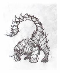 Pseudo scorpion by krigg