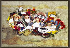 140408. HAPPY 2ND ANNIVERSARY EXO by LonaSNSD