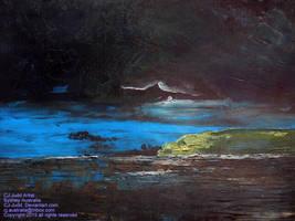 Oil Etude 14 CJ Judd Artist 2016 by CJ-Judd