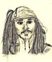 Captain Jack Sparrow by DyannaC
