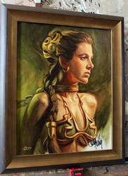 Slave Leia by Mike-Sass