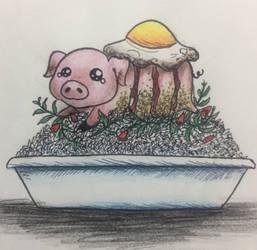 Crispy Spicy Pork by White-Rabbit1