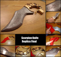 Scorpion Knife Replica Final by piratecaptain