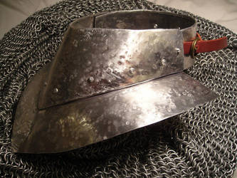 Metal Gorget by piratecaptain