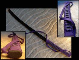 Katana WIP violet by piratecaptain