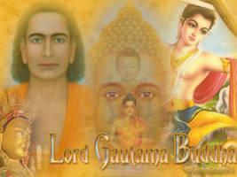 Lord Gautama Buddha by Cormael