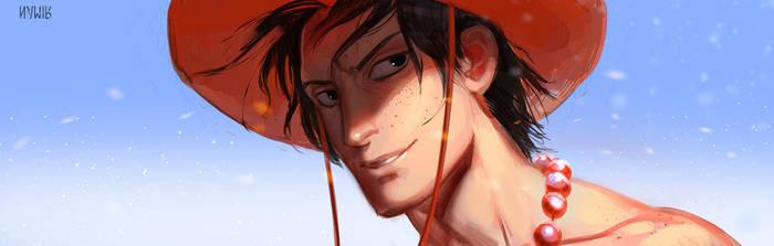 One Piece: Portgas D Ace by NamirJ