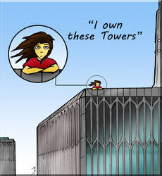 I own these Towers by Loony-Madness
