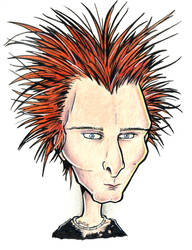 Matt Bellamy Caricature by Loony-Madness