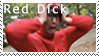 Red Dick Stamp by fothermuck