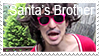 Santa's Brother Stamp by fothermuck