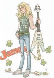 James Hetfield4 by geum-ja1971