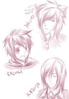 NnK: Face Doodles 1 by Lazulight
