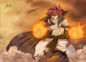 Fairy Tail 418   Natsu Dragneel  One Year Later by asdfrx