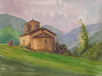 Sant Quirc de Durro by rMora
