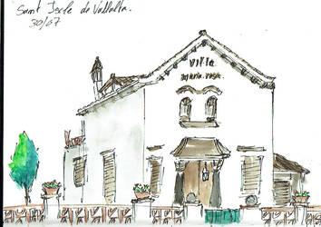 Sketch Sant Iscle de Vallalta 2 by rMora