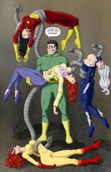 Doc Oc Kidnaps the Girls by BobKO