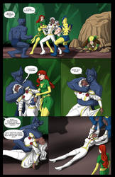 Storm's Savage Land Rescue Mission - 04 by BobKO
