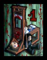 Bleeding Voodoo Doll: Minus 1 by ShadowMehMeh